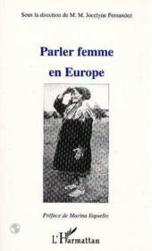 Parler femme en Europe - Couverture - Format classique