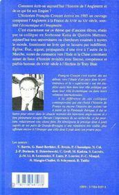 L'Angleterre et le monde XVIII-XX siècle ; l'histoire entre l'économique et l'imaginaire - 4ème de couverture - Format classique
