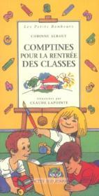 Comptines Pour La Rentree Des Classes - Couverture - Format classique