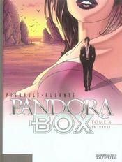 Pandora box t.4 ; la luxure - Intérieur - Format classique