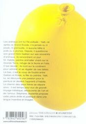 Yaël Tautavel ou l'enfance de l'art - 4ème de couverture - Format classique