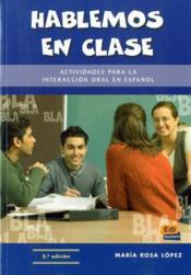 Hablemos En Clase - Couverture - Format classique