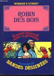 Robin Des Bois - Illustre En Bandes Dessinees - Couverture - Format classique