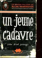 Un Jeune Cadavre - She Died Young - Couverture - Format classique