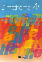 Mathématiques ; 4ème ; livre de l'élève - Intérieur - Format classique
