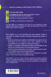 Croissance Et Mutations De L'Economie Mondiale Depuis 1945 - 4ème de couverture - Format classique