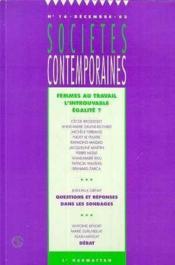 Societes Contemporaines N17 Mars 94 Aspects Des Modes De Vie - Couverture - Format classique