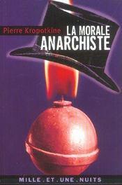 La Morale Anarchiste - Intérieur - Format classique