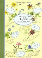 Le Langage Des Fleurs Des Champs - Intérieur - Format classique
