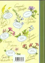 Le Langage Des Fleurs Des Champs - 4ème de couverture - Format classique