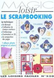 Le Scrapbooking - Intérieur - Format classique