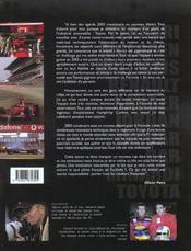 Une saison de grand prix f1 2003 - 4ème de couverture - Format classique