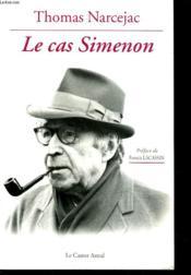 Le Cas Simenon - Couverture - Format classique