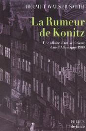 La rumeur de konitz - Intérieur - Format classique