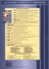 Maconnerie 1 T1 - 4ème de couverture - Format classique