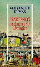 René Besson ; un témoin de la Révolution - Couverture - Format classique
