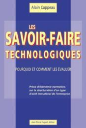 Les savoir-faire technologiques - Couverture - Format classique
