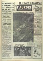 Aurore (L') N°7413 du 02/07/1968 - Couverture - Format classique