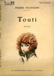 Touti. Collection : Select Collection N° 234 - Couverture - Format classique