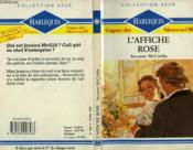 L'Affiche Rose - Too Much To Lose - Couverture - Format classique