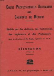 Cours Professionnels Artisanaux Des Chambres De Metiers - 2 - Couverture - Format classique