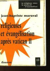 Religieuses Et Evangilisation Apres Vatican Ii - Couverture - Format classique