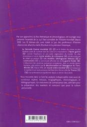 Le Second Xxe Siecle (1939-2000) Les 12 Themes-Cles - 4ème de couverture - Format classique