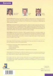 Economie De L'Entreprise Strategie Organisation Et Finance De L'Entreprise - 4ème de couverture - Format classique