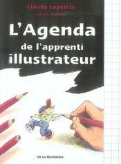 L'agenda de l'apprenti illustrateur - Intérieur - Format classique
