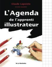 L'agenda de l'apprenti illustrateur - Couverture - Format classique