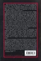 Lettres D'Un Fermier Americain - 4ème de couverture - Format classique