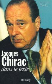 Jacques chirac dans le texte - Intérieur - Format classique