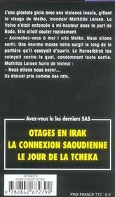 SAS t.33 ; rendez-vous à Boris Gleb - 4ème de couverture - Format classique