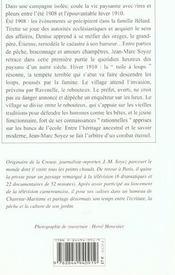 Tuile A Loups (La) - 4ème de couverture - Format classique