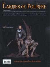 Le Domaine Malefique T.1 - 4ème de couverture - Format classique
