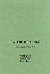 Demeure D'Etranger - Intérieur - Format classique
