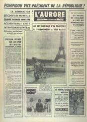 Aurore (L') N°7414 du 03/07/1968 - Couverture - Format classique
