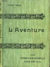 L'Aventure. - Couverture - Format classique