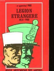 Revue Historique Des Armees - Numro 1-1981 Special - Couverture - Format classique