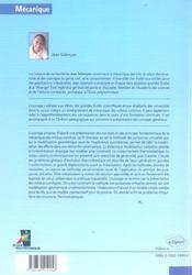 Mecanique Des Milieux Continus Tome 1 Concepts Generaux Nouvelle Edition Avec Cd - 4ème de couverture - Format classique