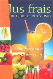 Jus Frais De Fruits Et De Legumes - Intérieur - Format classique
