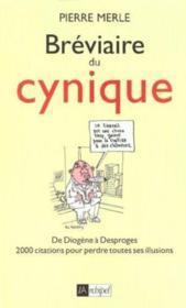 Breviaire Du Cynique - Couverture - Format classique