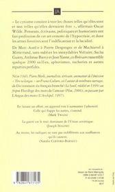 Breviaire Du Cynique - 4ème de couverture - Format classique