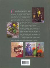 Bouquets D'Artistes - 4ème de couverture - Format classique