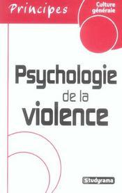 Psychologie De La Violence - Intérieur - Format classique