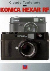Konica hexar rf - Couverture - Format classique