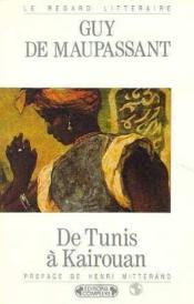 De tunis a kairouan - Couverture - Format classique