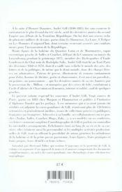 André gill, correspondance et mémoires d'un caricaturiste - 4ème de couverture - Format classique
