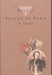 Voyage de Paris à Java - Couverture - Format classique