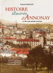 Histoire illustree d'annonay - Couverture - Format classique